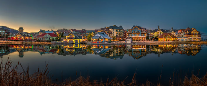 collingwood village reflection