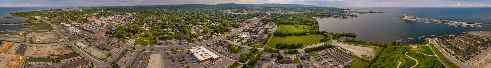 Collingwood ontario 360 panorama