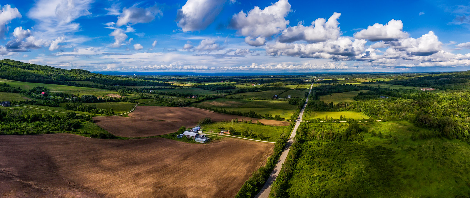 Ontario Collingwood Side Road 33 Aerial